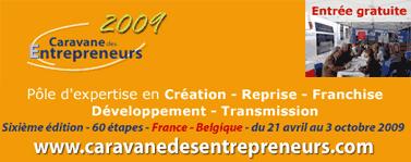 La caravane des entrepreneurs 2009